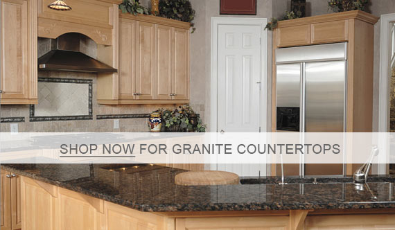 Centaur Granite Countertops - Tan Brown