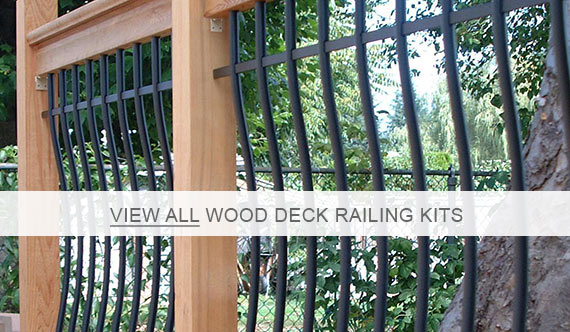 RailSimple Wood Deck Railings