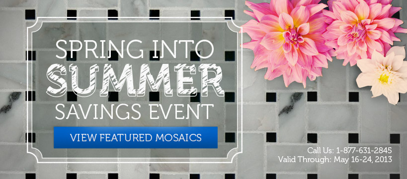 Spring into Summer Savings Event