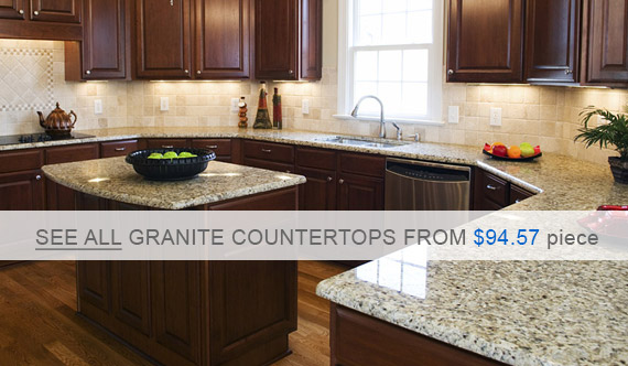 Centaur Granite Countertops - Venetian Gold