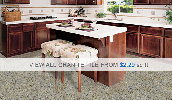Granite Tile - New Venetian Gold