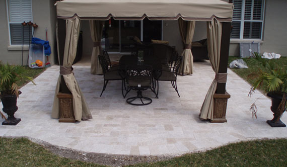 Travertine Pavers Ivory