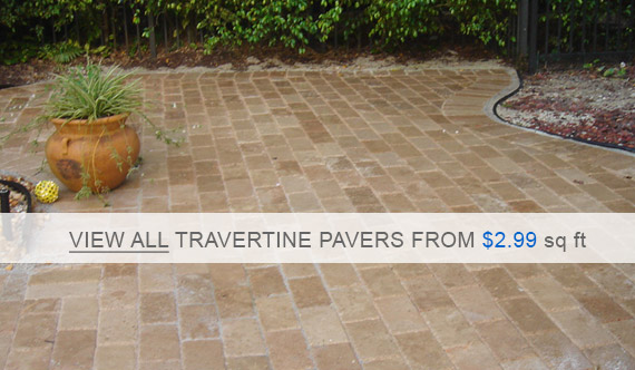 Travertine Pavers Noce