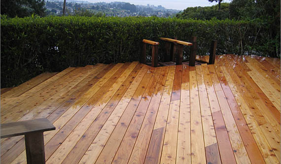 Cedar West Cedar Decking